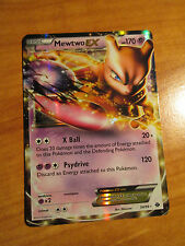 EX MEWTWO EX Pokemon card NEXT DESTINIES Set 54/99 Black and White BW Ultra Rare