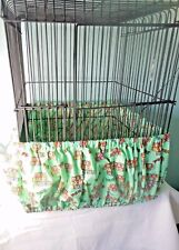"Large #4 Band type seed catcher Biridie Bloomer cage 68-114  x 11""  Washable"