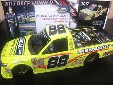 Matt Crafton 2017 ELDORA DIRT WIN RACED 1/24 Menards Truck