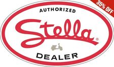 Oval Genuine Scooter Company Authorized Stella Sign