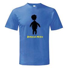 T-shirt DEPECHE MODE maglietta maglia Uomo Man MUSICA ROCK Gahan Gore