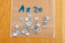 Case clamp mounting tab A (4.4x2.6mm) 20 pieces for ETA Valjoux movements