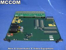 Thomson Grass Valley Trinix SI-33110 SDI 32 Input Module for Trinix Router