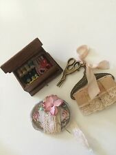 Miniature Doll Designed Custom Md Sewing Accessories 4 Antique Doll House