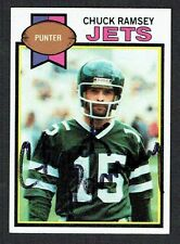 Chuck Ramsey #402 signed autograph auto 1979 Topps Football Trading Card