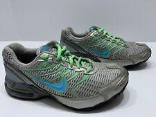 New listing Women's Nike Air Max Air Torch 4 Running Shoes Gray Aqua Size 7