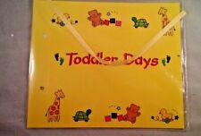 25 Preschool Toddler Days scrap book covers ribbon ties parent gift