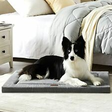 New listing Western Home Dog Bed for Crate High Resilience Foam Dog Crate Mat Kennel Pad .