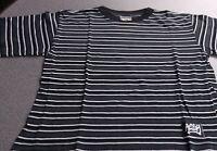 Dognose T-Shirt ,Jungen ,Kids ,Gr. 140  schwarz -grau-weiß  gestreift   NEU