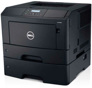 Refurbished Dell B2360dn laser printer w/dual trays Legal, Letter Network USB