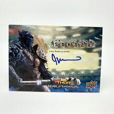 Upper Deck Thor Ragnarok Taika Waititi as KORG Autograph