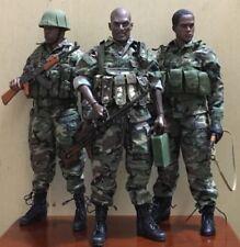 "1:6 Scale Peter Mensa Head Sculpt For 12"" Male Black COO2.0 Action Figure Dolls"