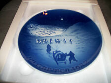 "Mint B&G Bing & Grondahl Royal Copenhagen collectible plate 7"" inch diameter"
