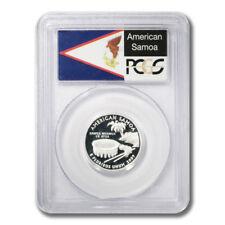USA Territories American Samoa Proof Silver Quarter 2009 S PCGS PR 69 DCAM