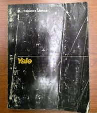 Yale Service Maintenance Manual for Models Nr/Ndr/Ns (1503)