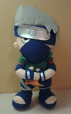 "Authentic Naruto Shippuden Kakashi Plush Doll 12.5""  Banpresto UFO NWOT"