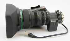"Canon J14ax8.5B4 IRS SX12, 2/3"" 14x SD Broadcast lens"