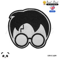 Harry Potter Scar Face Embroidered Iron On Sew On PatchBadge For Clothes etc