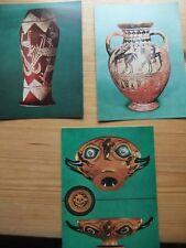 3 Postcard.Egyptian Vase.eye cup, Pontic class in Ashmolean Museum, Oxford (P)