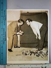 Rare Orig VTG 1942 Broderick Crawford Frank G Katzenberger Safe Cracker Photo