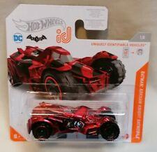 HOT WHEELS - *New MOC* Hot Wheels ID Batman Arkham Knight Batmobile DC Mattel