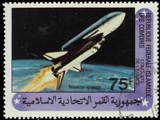 "COMORO ISLANDS 518 (Mi626) - Conquest of Space ""Space Shuttle Columbia"" (pa77572"