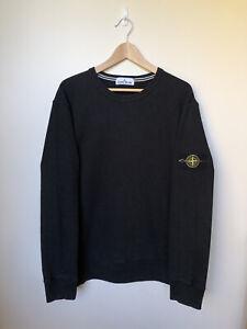 Stone Island Crewneck Sweatshirt Jumper Black (Size 3XL fits XL-2XL) RRP $375