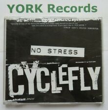 CYCLEFLY - No Stress **PROMO** - Excellent Con CD Single Radioactive STRESSCD 1
