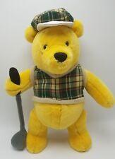 Golfing Winnie the Pooh Plush Bear 15 in Walt Disney World Walt Disney Attractio
