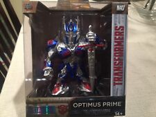 TRANSFORMERS THE LAST KNIGHT Optimus Prime Diecast Jada Metals 4 inch M407