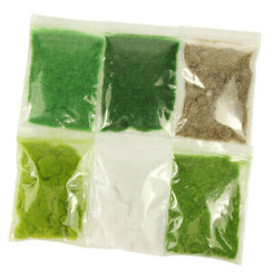 120g 3mm Grass Powder Flock Adhesive Nylon Grass Powder Railway Diorama