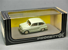PROGETTO K - SEAT 600 D Berlina 1960 Spanish Fiat 1:43 Sc. 1/43 Italy NEW & BOX