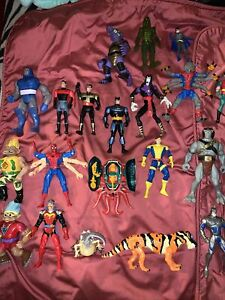 Vintage action figures lot Mixed