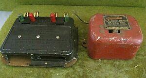 American Flyer Train Metal Model 1275 AC Circuit Breaker and track controller