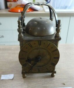 LARGE INTERESTING VINTAGE SMITHS ELECTIRC LANTERN CLOCK