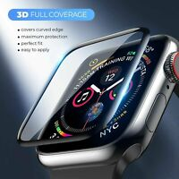 3D Tempered Glass Screen Protector For Apple Watch iWatch 5 4 3 2 38/40/42/44 mm