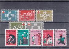 NEDERLAND NVPH 889-893 en 894-898 postfris MNH