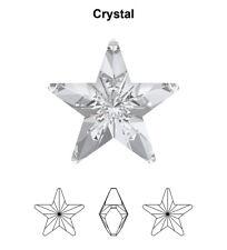 Swarovski 4745 Star 5 Mm Crystal F ( for 1 Pair)