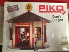 PIKO 62227  DANS BURGER BUILDING KIT NEW IN BOX WATER DAMAGED BOX
