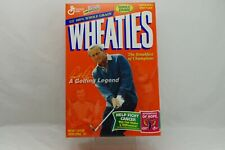 Wheaties Arnold Palmer Breakfast of Champions Golfing Legend Empty Box