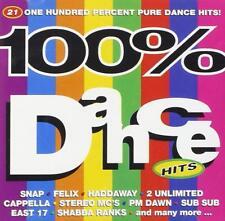 100% Dance Hits CD Snap/Stereo MC's/Shabba Ranks/Shaggy/Utah Saints/P M Dawn+