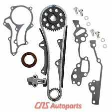 FOR 85-95 2.4L Toyota 22RE HD Timing Chain Kit (2 Heavy Duty Metal Guides) 22REC