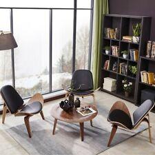 3 Mid-Century Modern Shell Chairs-brand new