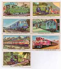 The Story of the Locomotive Series2 - Kellogg -Card numbers 2,5,7,8,10,14 and 16