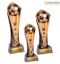 Fußballpokal Winner WM gold 23-31 cm inklusive Gravur auf Schild | Pokale Meier