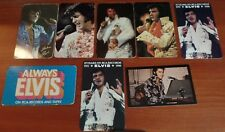 Original Elvis Presley Pocket Calenders and other collectables
