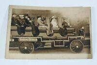 Vintage Denver Automobile Cars Real Photo 1911 Rare Antique Postcard Collectible