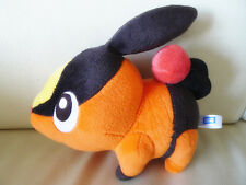 "Original Takara Tomy Pokemon Plush Stuffed Doll 7"" Length Tepig Figure"