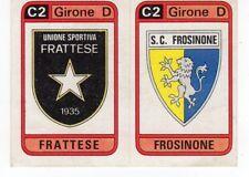 figurina CALCIATORI PANINI 1983/84 NEW numero 580 SCUDETTI FRATTESE FROSINONE