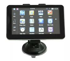 "7"" 8GB bluetooth av-in camion voiture de navigation gps camion hgv sat nav fm uk eu cartes"